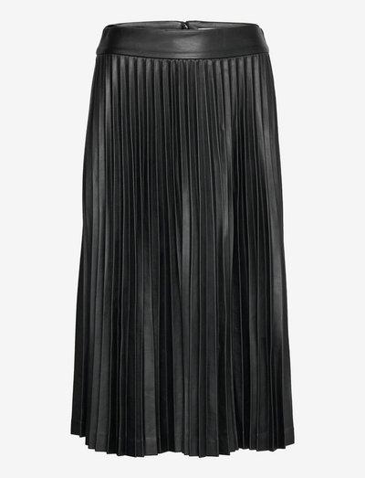 Jada skirt - midi kjolar - black