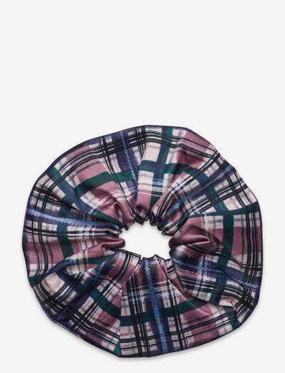 Cecely scrunchie - scrunchies - tartan check