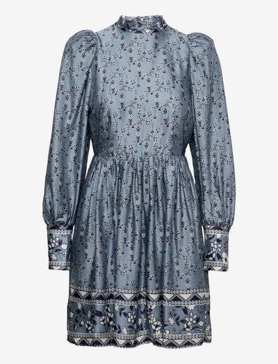 Daphne dress - cocktailklänningar - liberty blue flower