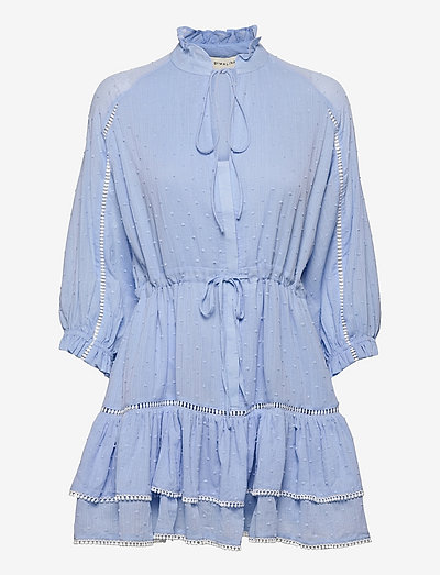 Denisa dress - sommarklänningar - ocean blue