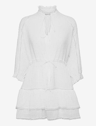 Denisa dress - sommarklänningar - white