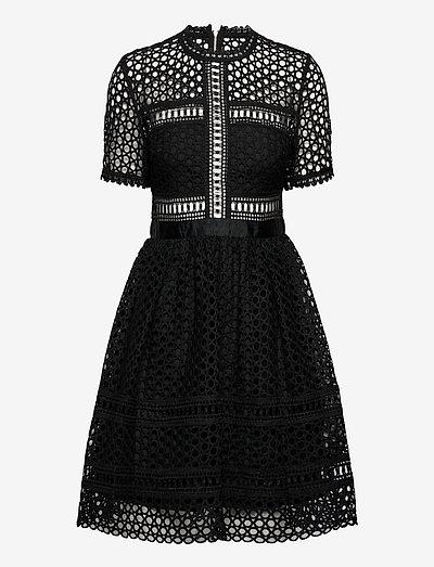 Emily dress - cocktailklänningar - black