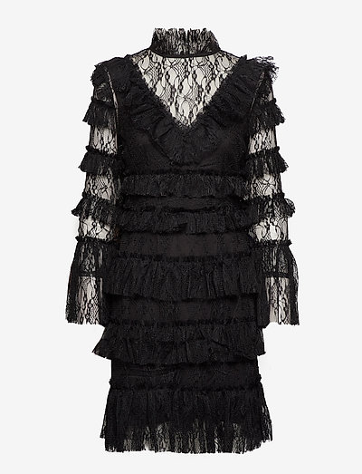 Rosa dress - cocktailkleider - black