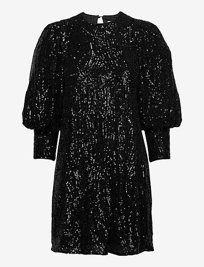 Rubina dress - festklänningar - black