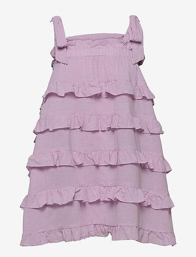 Carla dress - sommarklänningar - light lavender