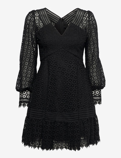 Brooke dress - cocktailklänningar - black