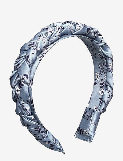 Juniper headband - hair band - liberty blue flower