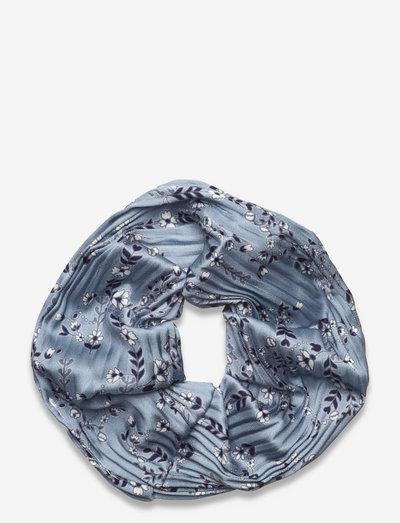 Lou pleated scrunchie - scrunchies - liberty blue flower