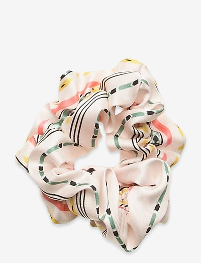 Nika scrunchie - hiusasusteet - inca soft beige
