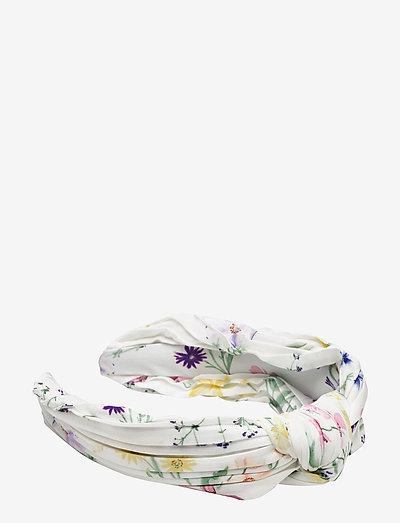 Mila pleated headband - accessoires - midsummer white