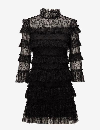 Carmine mini dress - cocktailkleider - black