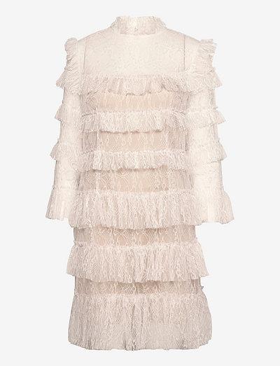 Carmine mini dress - cocktailkleider - cloudy white