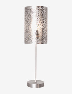 Mesh table lamp - bordlamper - silver
