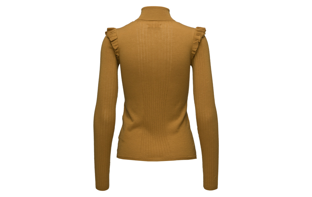 Frill Mérino Merino Honey Mo 100 Ti Turtleneck Laine By 343 qZxCtpwW