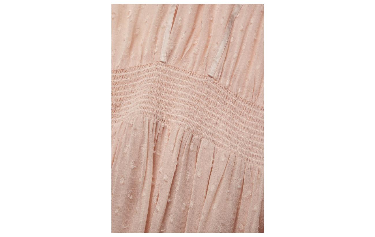 By 100 501 Garden Vintage Couture Smocking Semi Ti Mo Delicate Viscose Dress r1vSr7qB