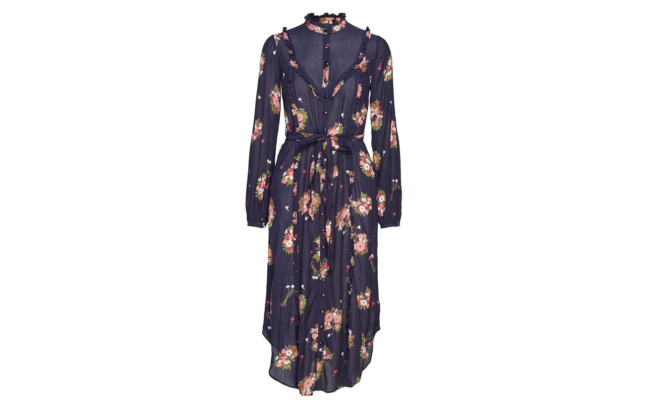 Garden Viscose Mo 804 Wisteria Ti Bohemian Coton By Dress 50 Shirt 05qvoxP