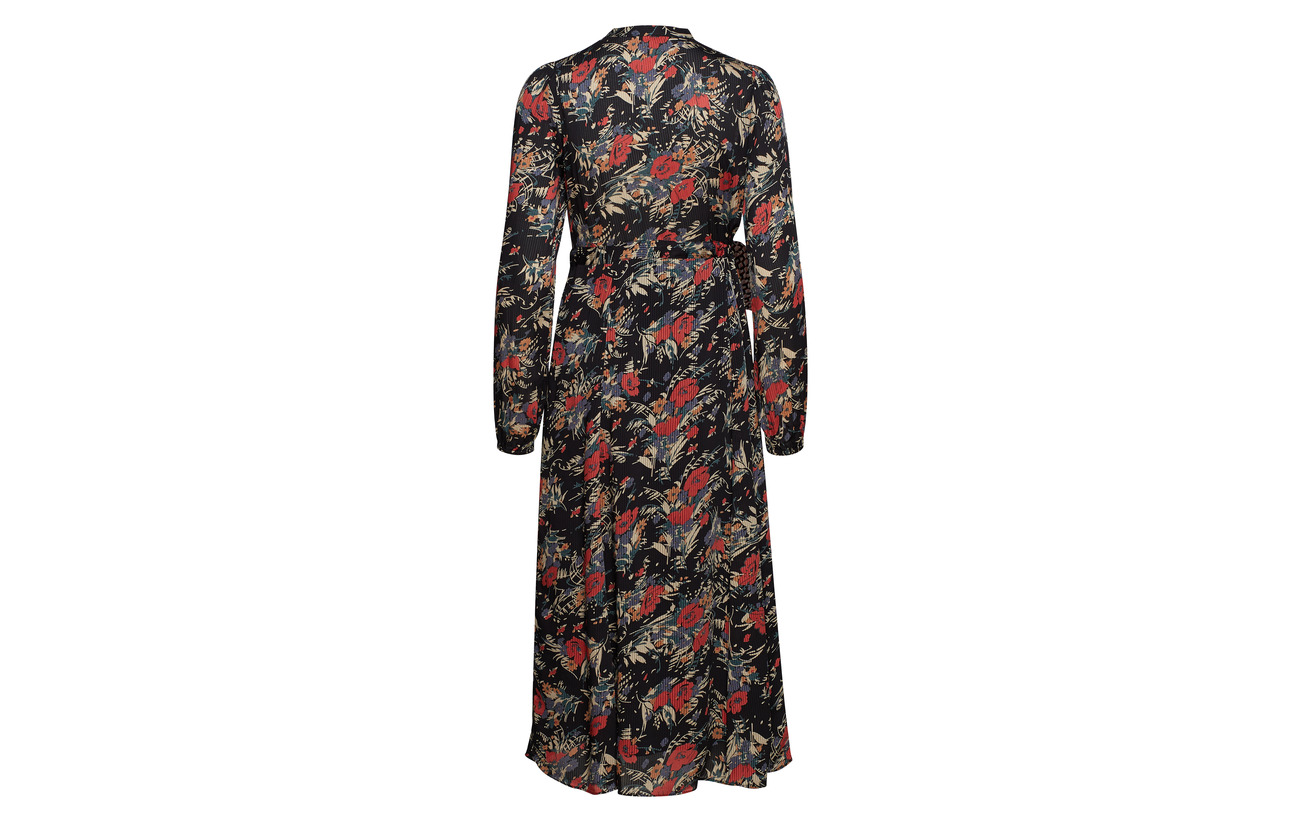 Evening By Mo Belted Semi Dress 780 Viscose Bouquet Ti 100 Think ffwqR0