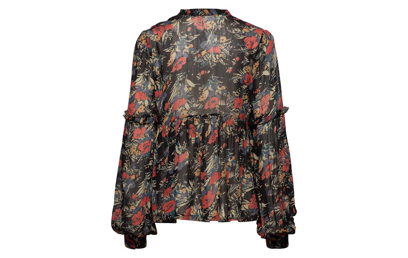Semi Couture By Viscose Mo Blouse 786 Ti Bouquet 100 fEqTqw1