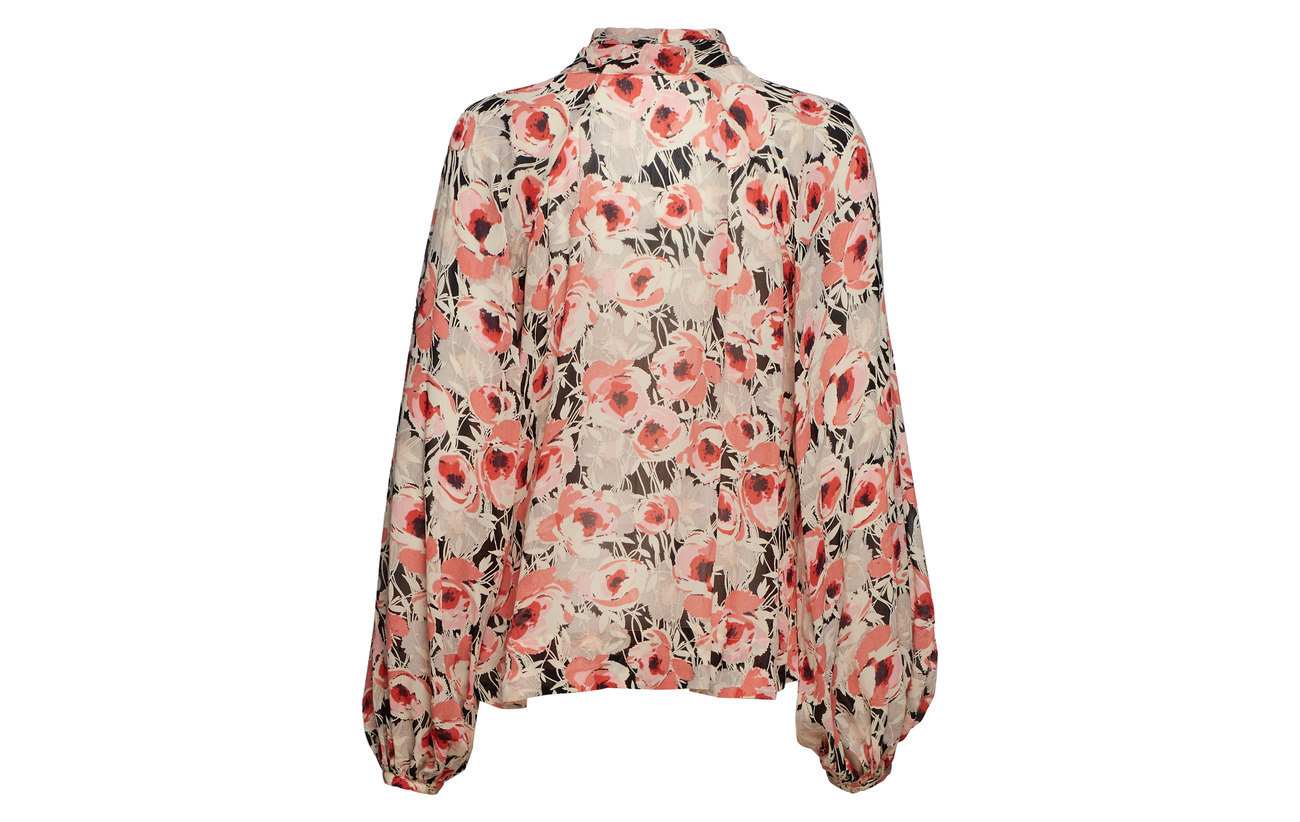 787 By Blouse Semi Mo Ti 100 Couture Viscose Anemone Bow wwYxBZqC7