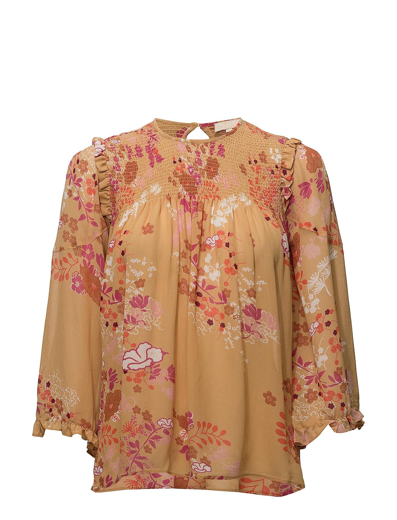 0ed0917e by Ti Mo Semi Couture Blouse (389 Golden Garden), (208.80 €) | Large ...