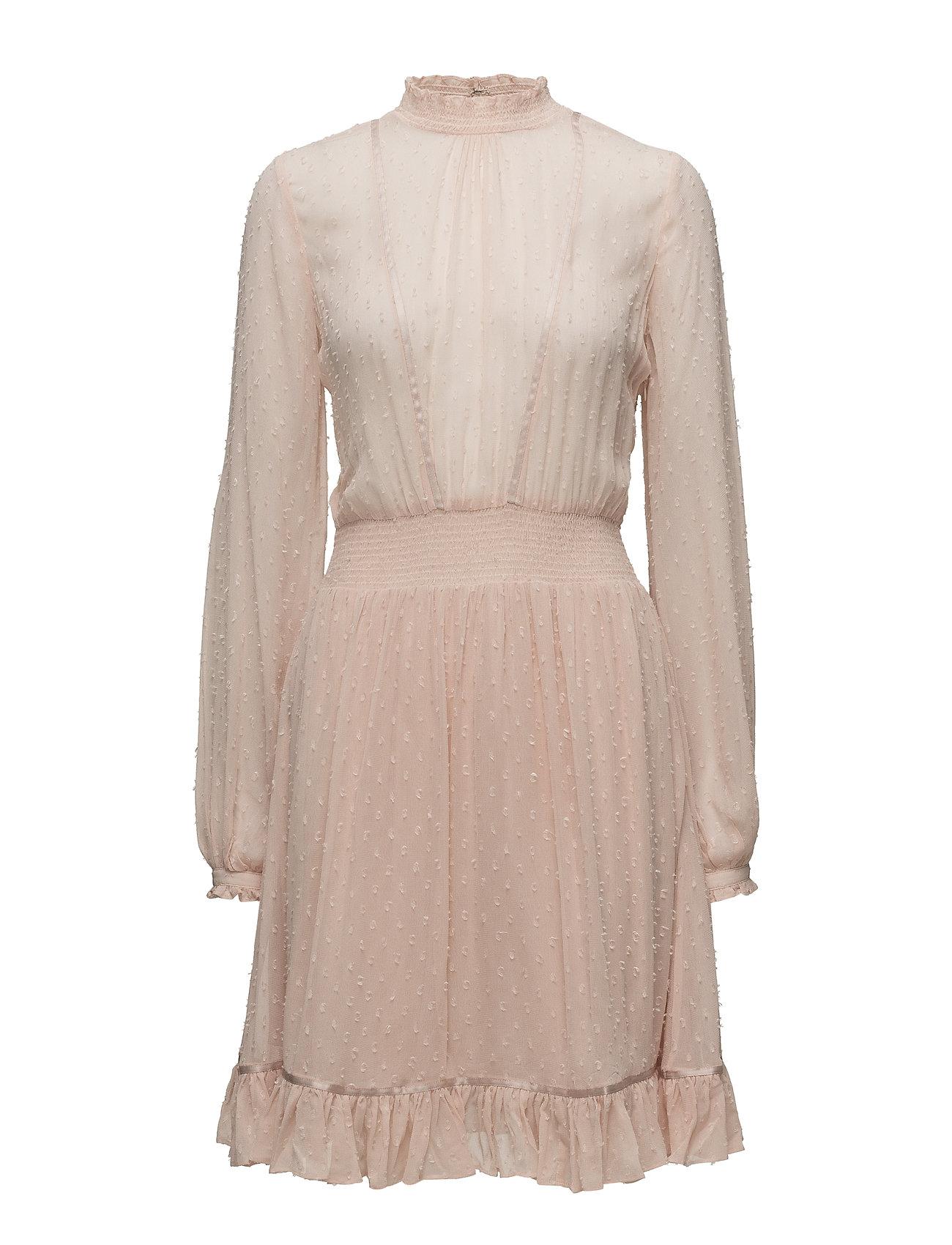 by Ti Mo Delicate Semi Couture Smocking Dress - 044 POWDER