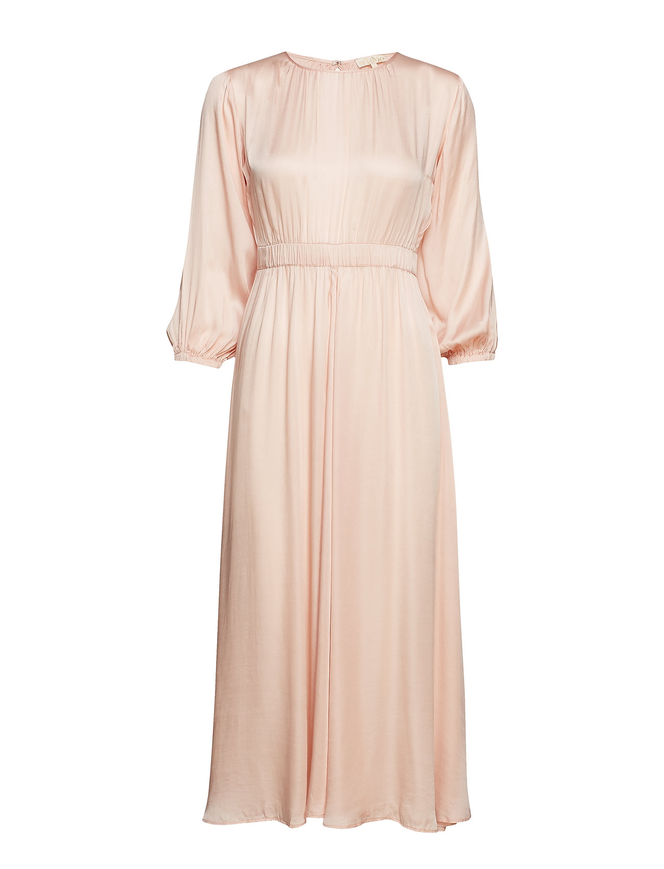 By Ti Mo Satin Midi Dress