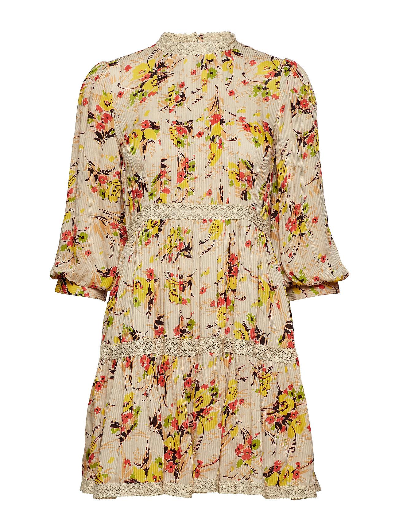 by Ti Mo Delicate Semi Mini Dress - 781 CRISP SPRING