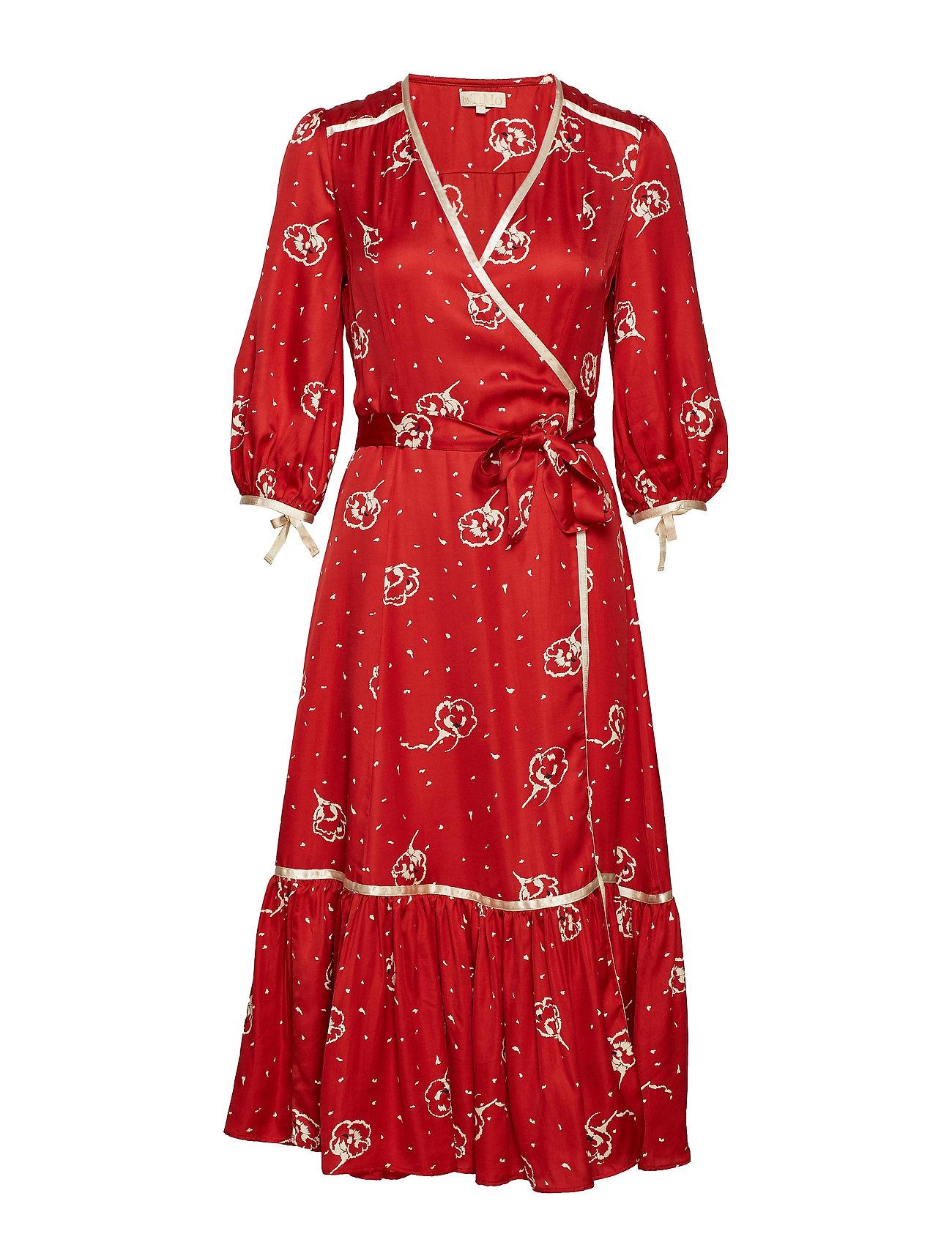 Contrast Wrap Dress801 Ti Mo RosaleenBy QCxrdBoWe