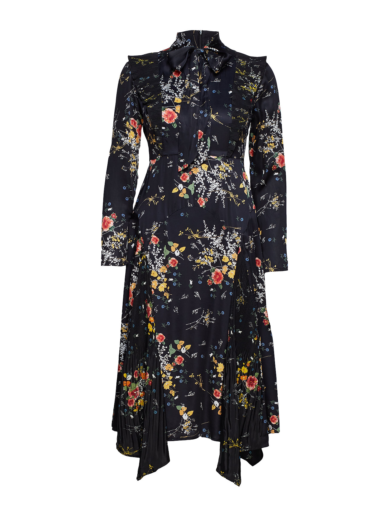 by Ti Mo Plisse Midi Dress