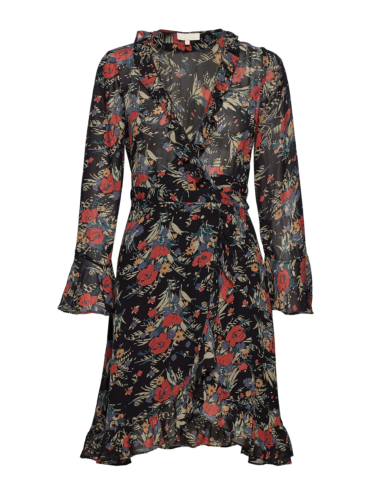 by Ti Mo Semi Couture Wrap Dress