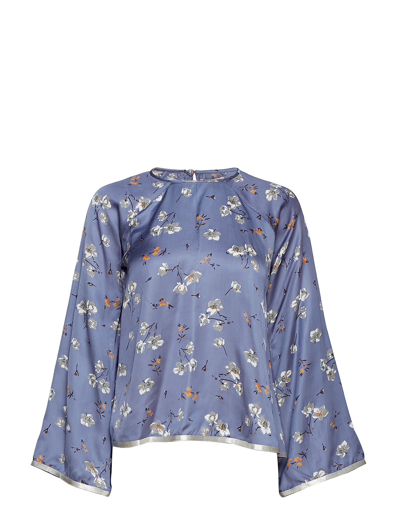 by Ti Mo Contrast Blouse