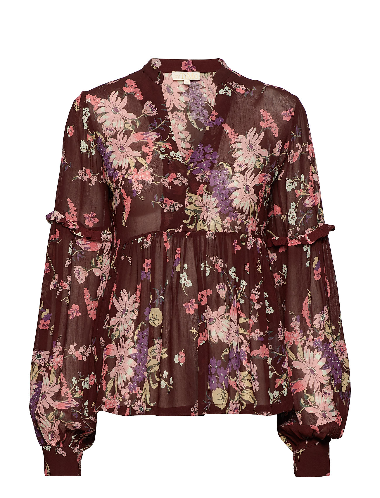 by Ti Mo Semi Couture Blouse - 790 VIOLA