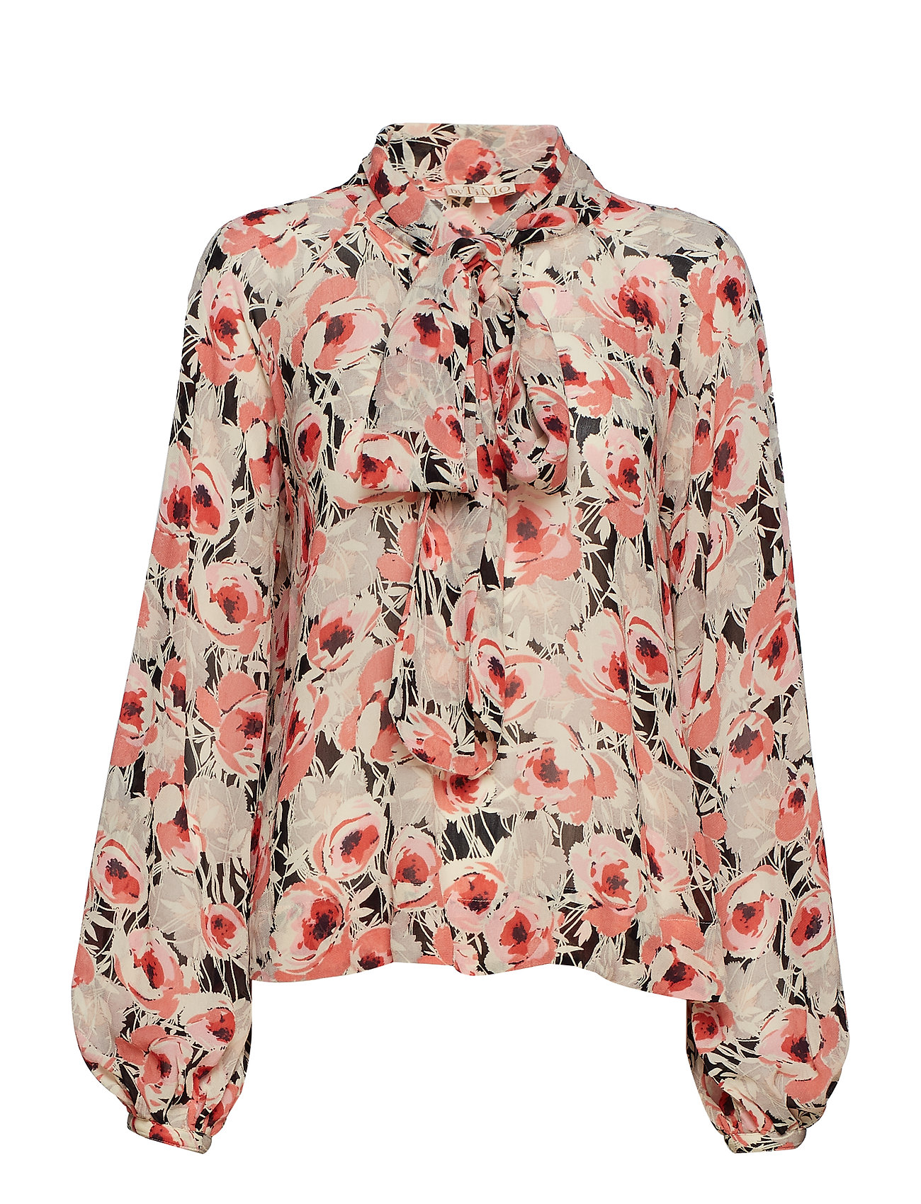 by Ti Mo Semi Couture Bow Blouse - 787 ANEMONE