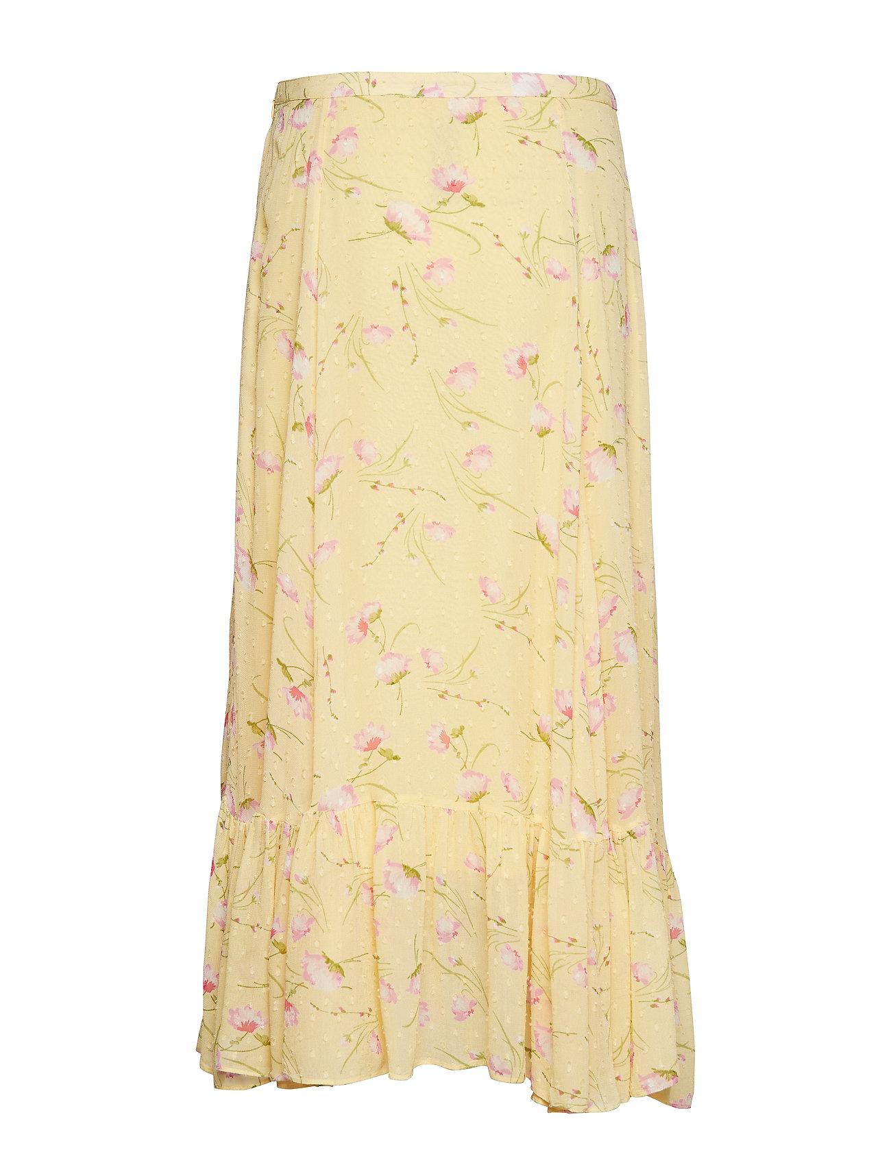 by Ti Mo - Delicate Semi Skirt - midi skirts - yellow poppy