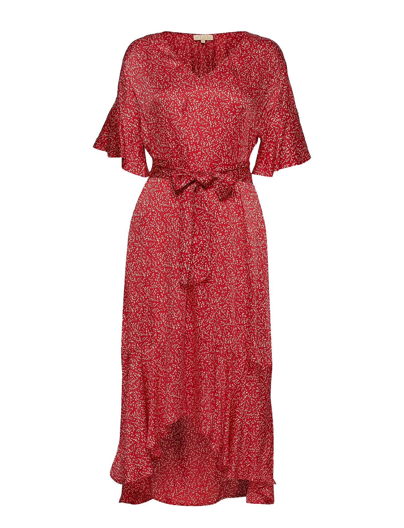 by Ti Mo Shiny Assymetric Dress - LOOSE DOTS