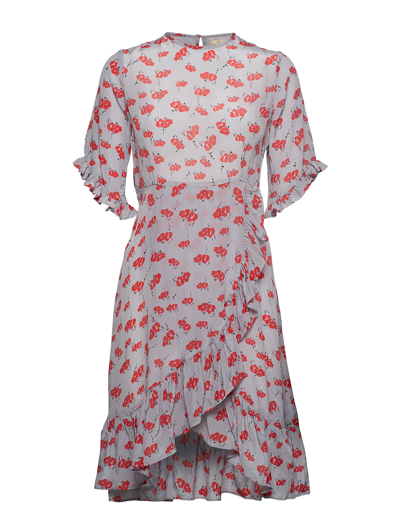 by Ti Mo Delicate Frill Dress - FLOWER POP