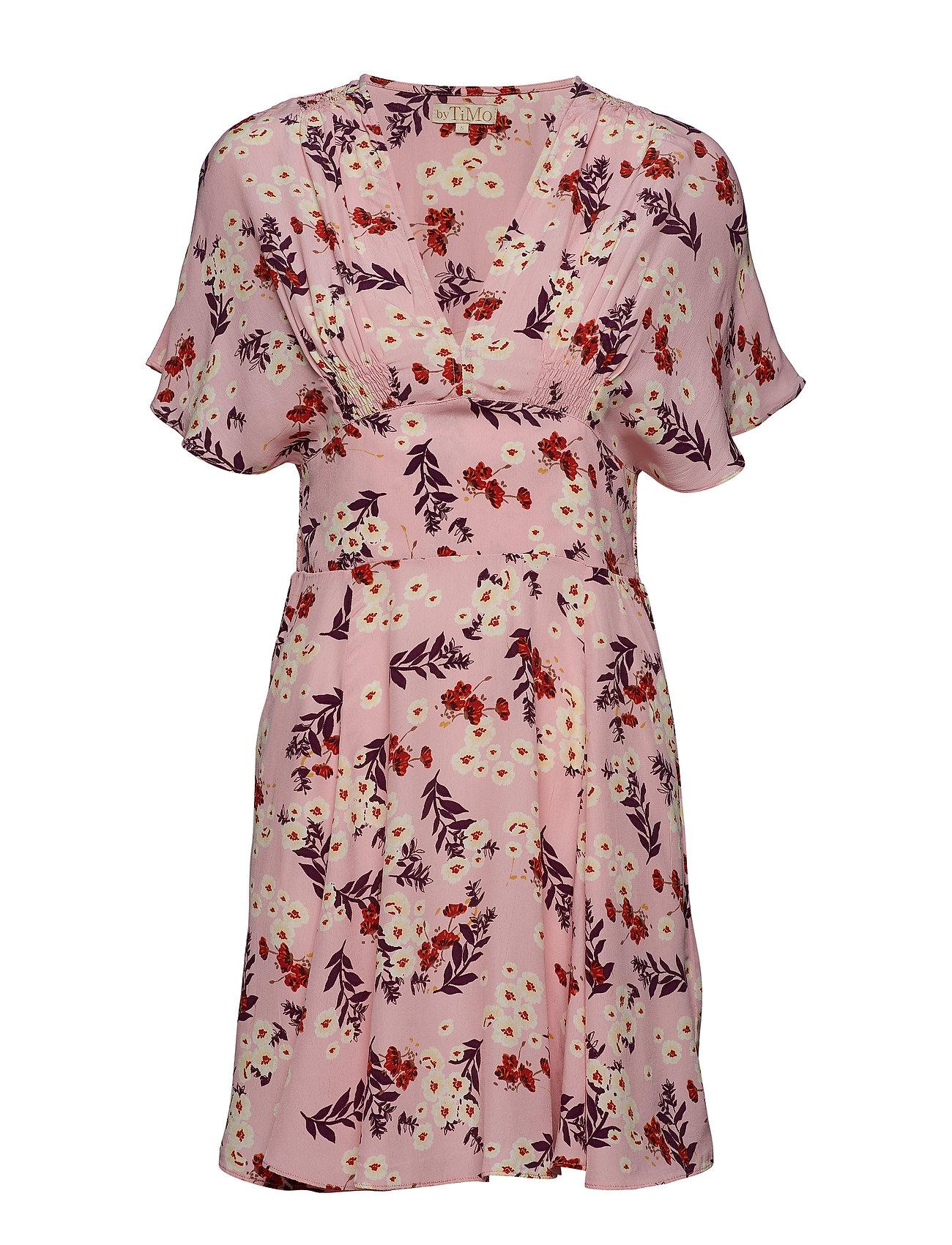 by Ti Mo Smocking Mini Dress - BLOOM