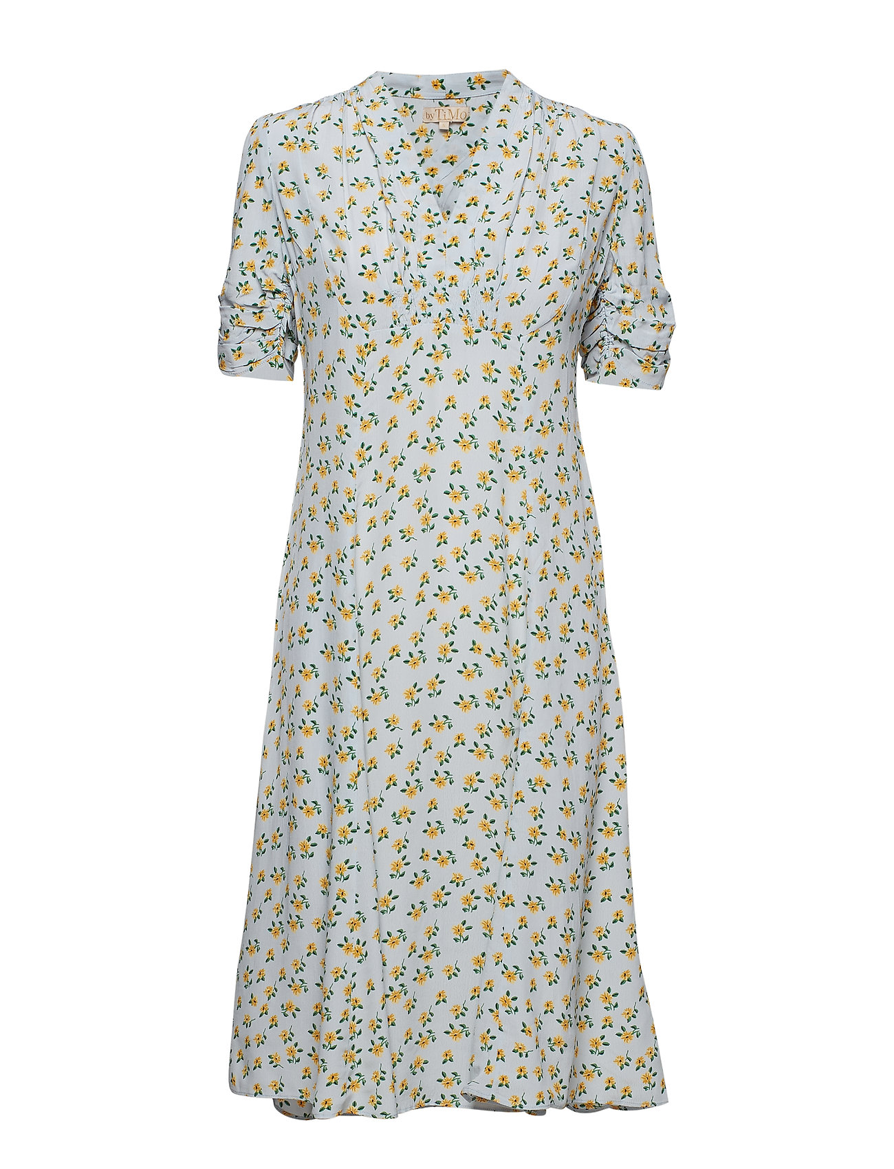 Image of Day Dress Knælang Kjole Blå BY TI MO (3118026635)