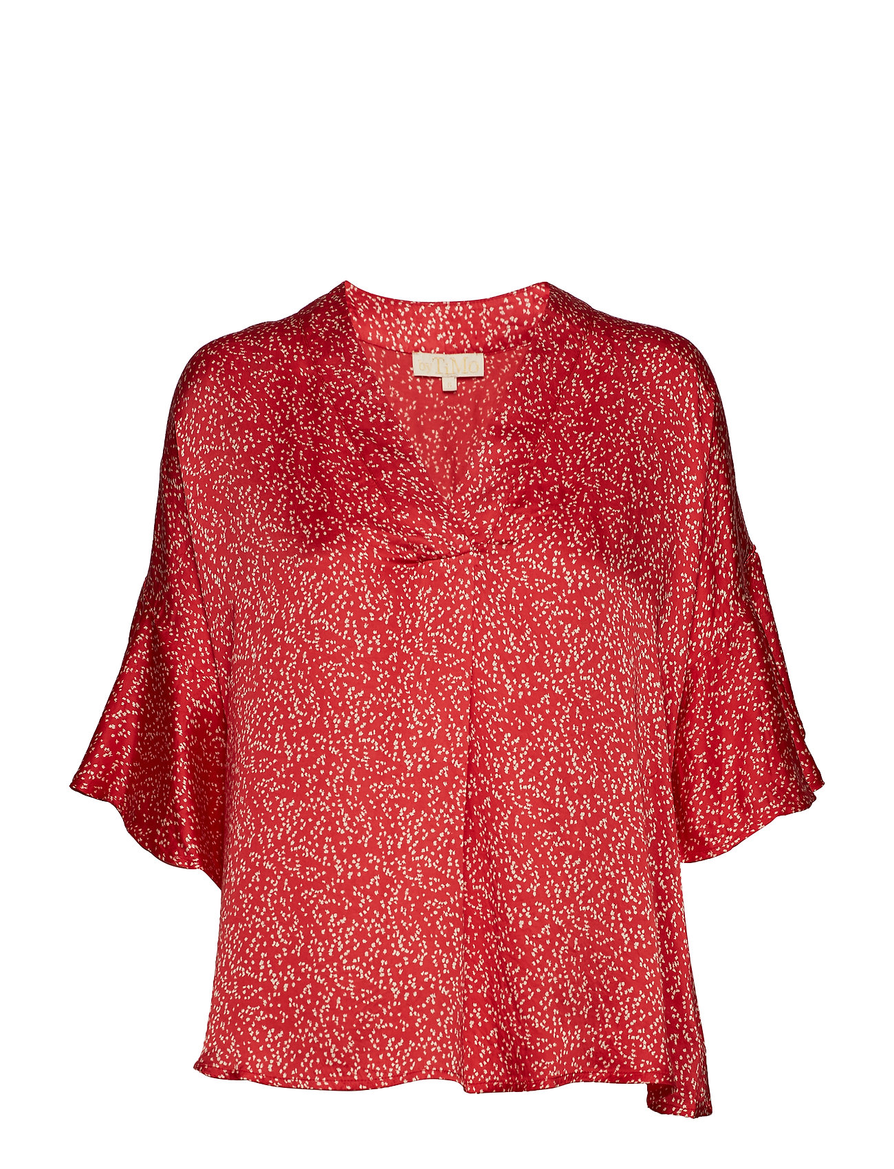 by Ti Mo Shiny Top - LOOSE DOTS