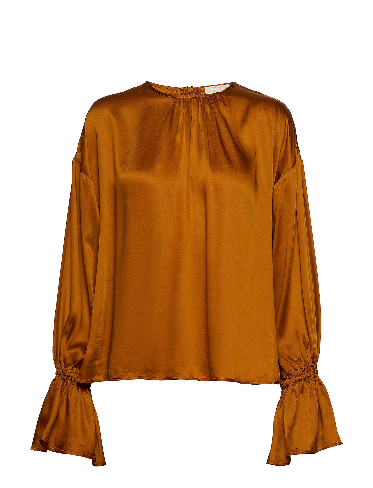 by Ti Mo Satin Blouse - MAPLE