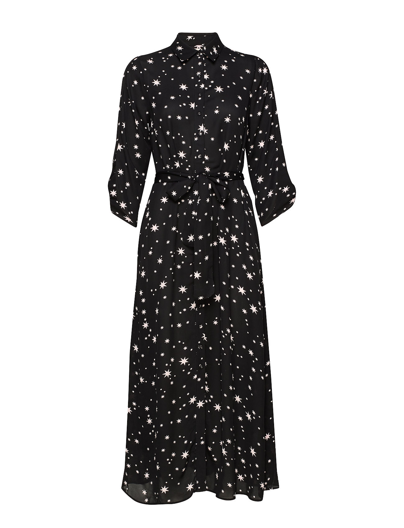 by Ti Mo Vintage Drape Shirt Dress - STARS