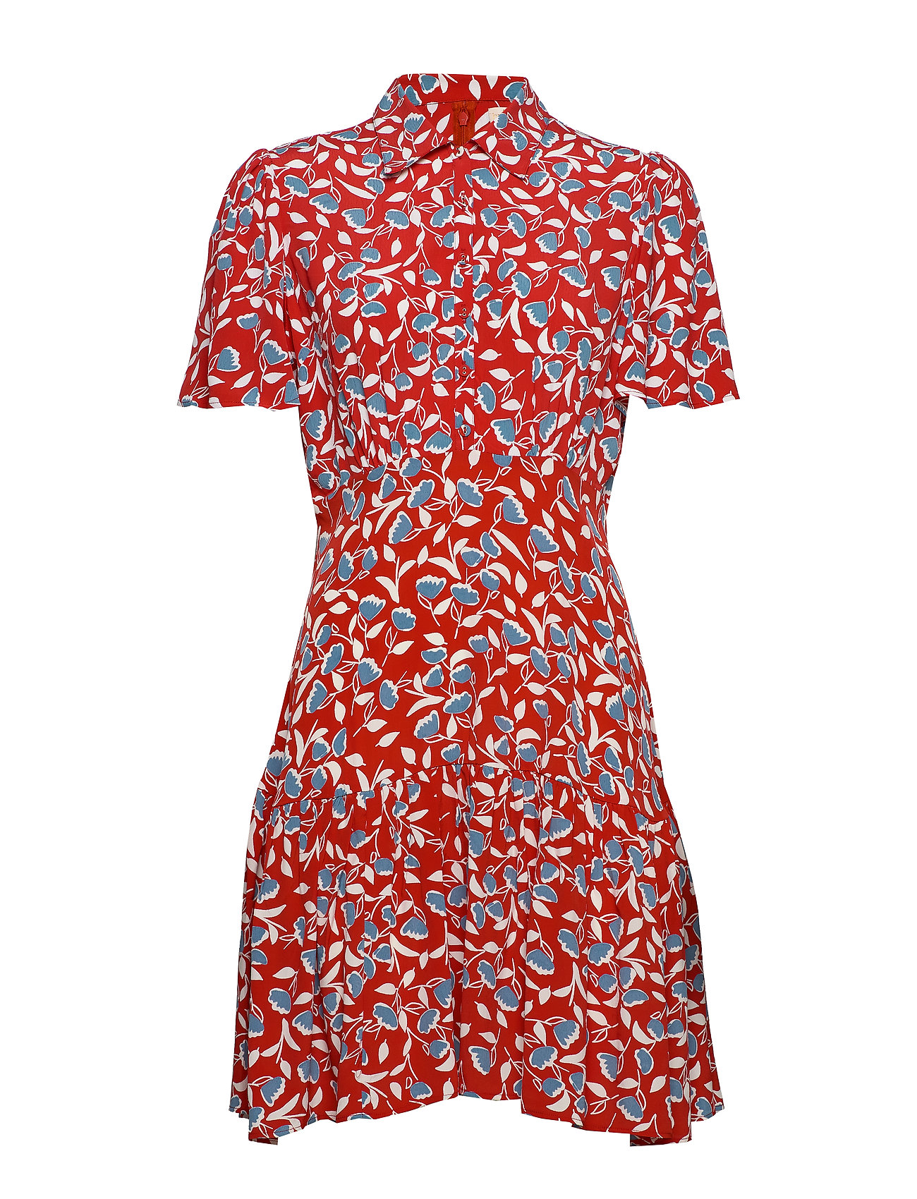 by Ti Mo Summer Mini Shirt Dress - JOYFUL