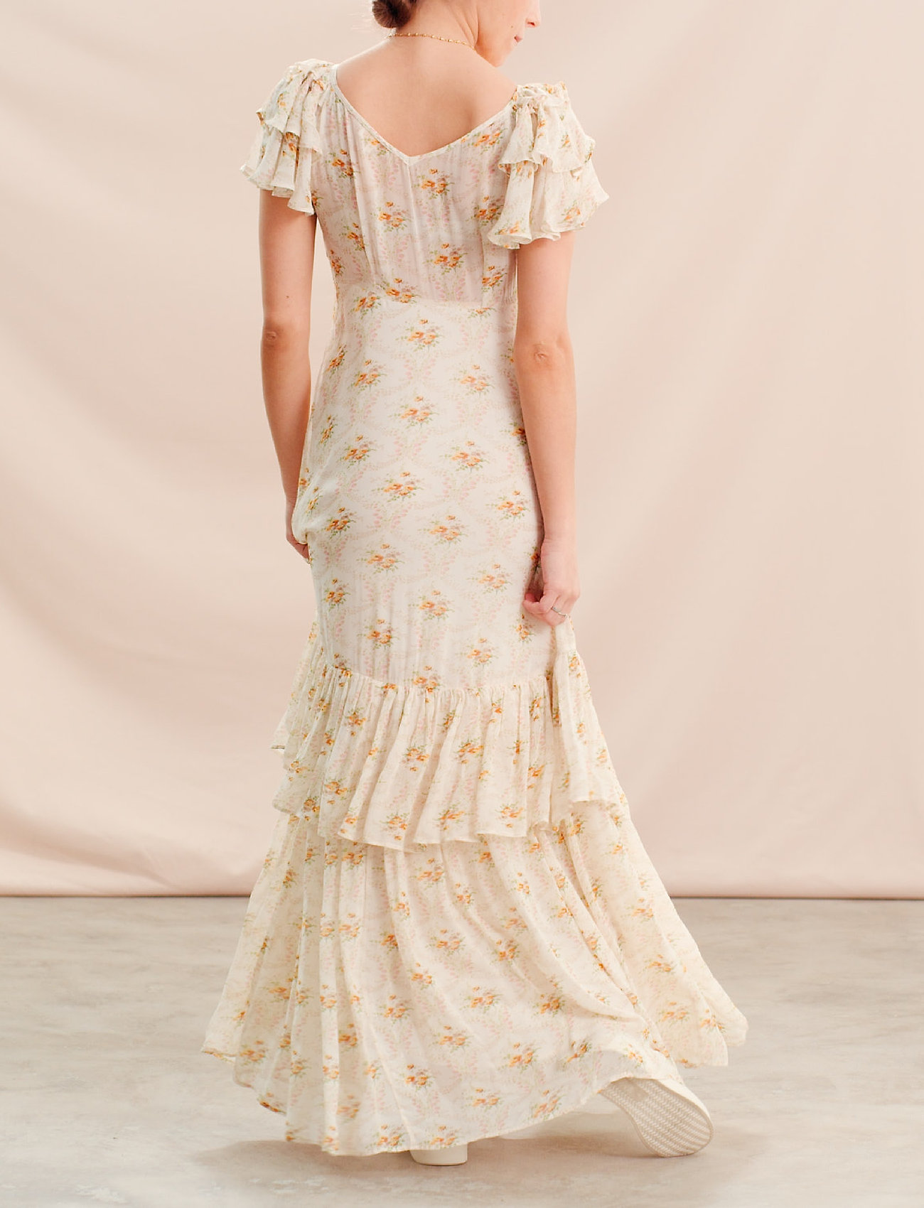 by Ti Mo - Georgette Gown - maxi dresses - wallpaper - 3