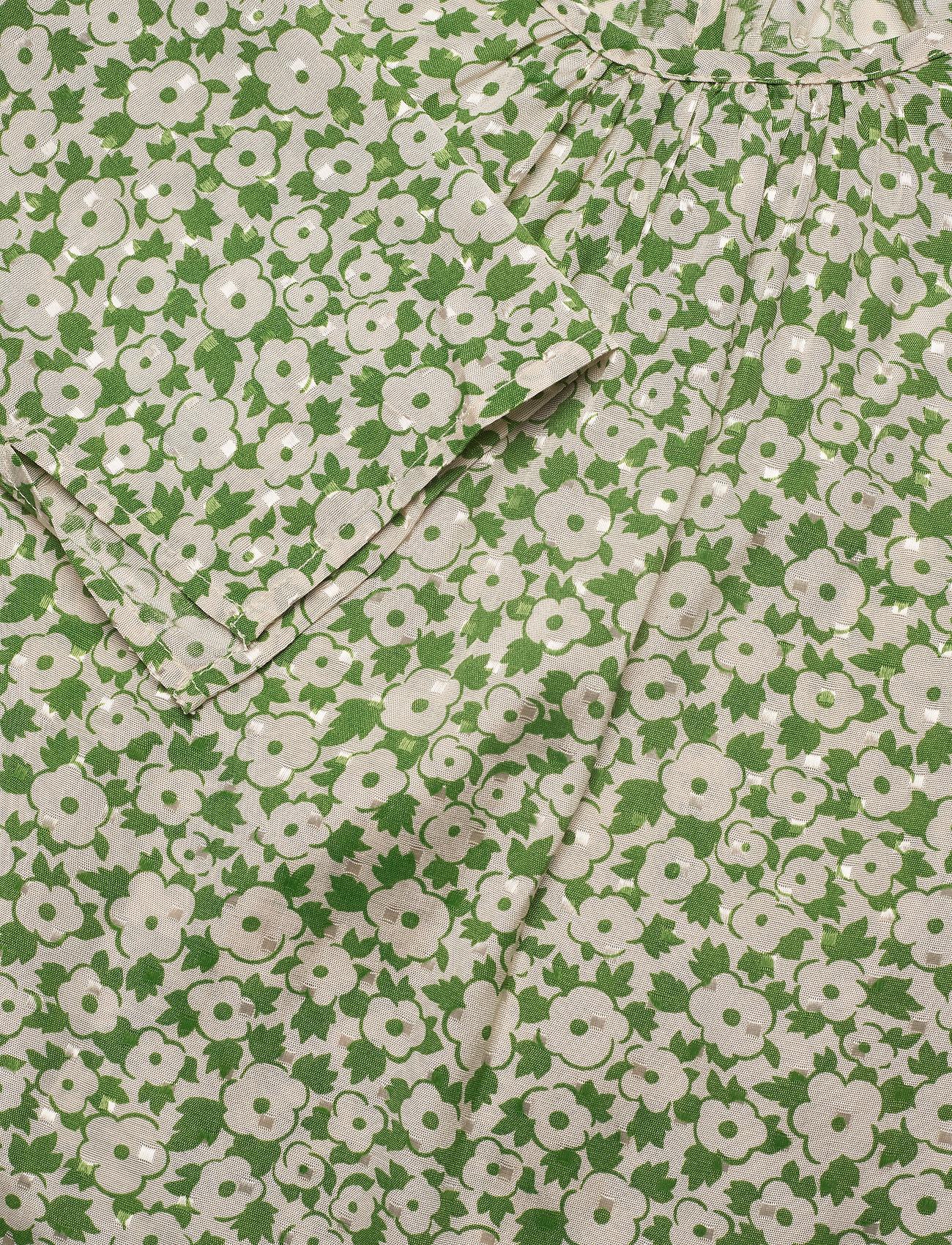 by Ti Mo - Delicate Top - langærmede bluser - green garden - 2