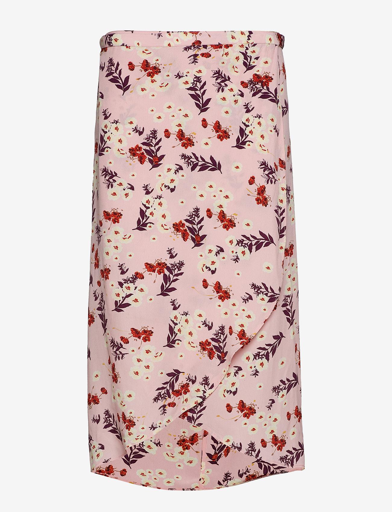by Ti Mo - Wrap Skirt - midi skirts - bloom