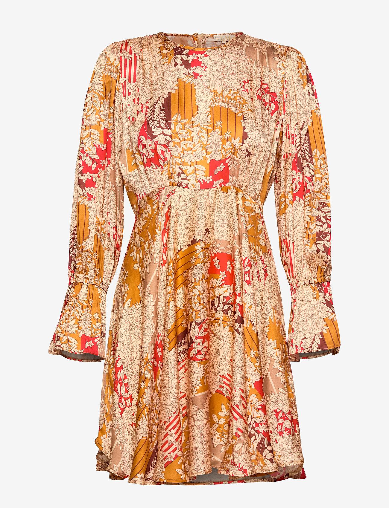 by Ti Mo - Satin Mini Dress - krótkie sukienki - tokyo dream - 0