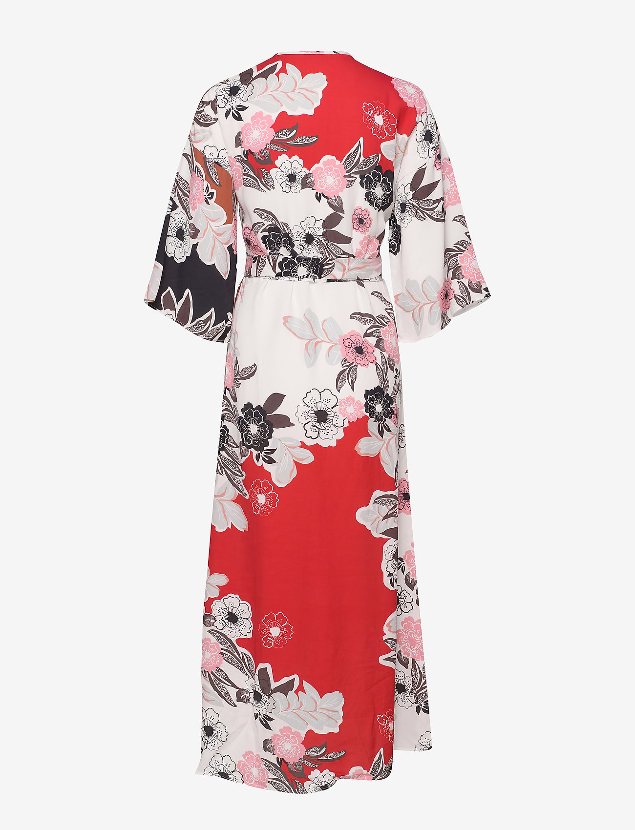 By Ti Mo Vintage Drape Wrap Dress - Robes