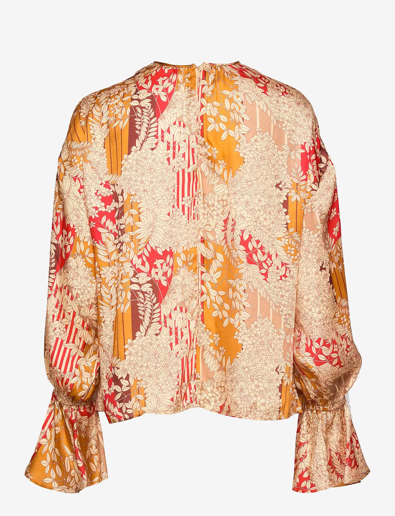 by Ti Mo - Satin Top - bluzki z długimi rękawami - tokyo dream - 1