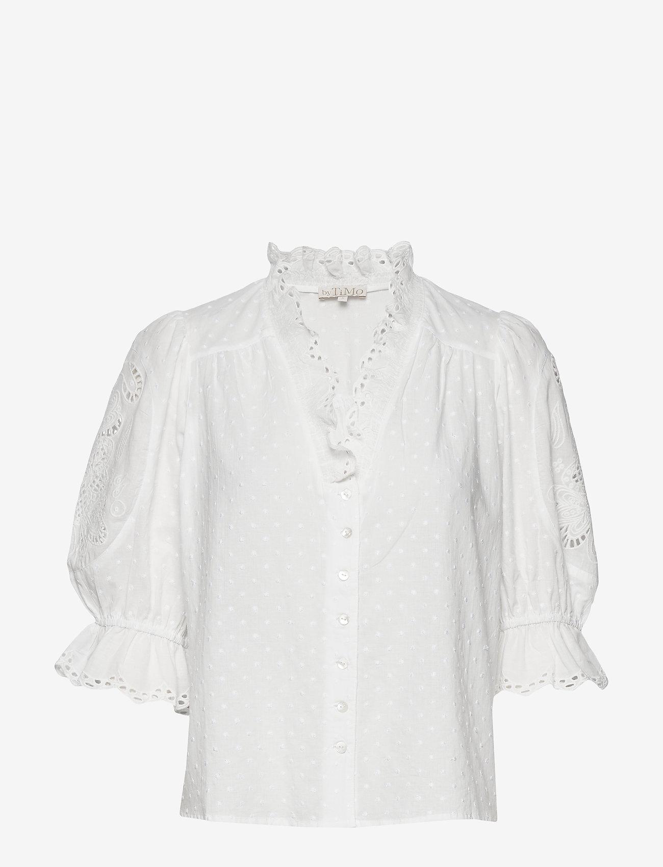 Sunday Morning Shirt (White) - by Ti Mo THkvGr