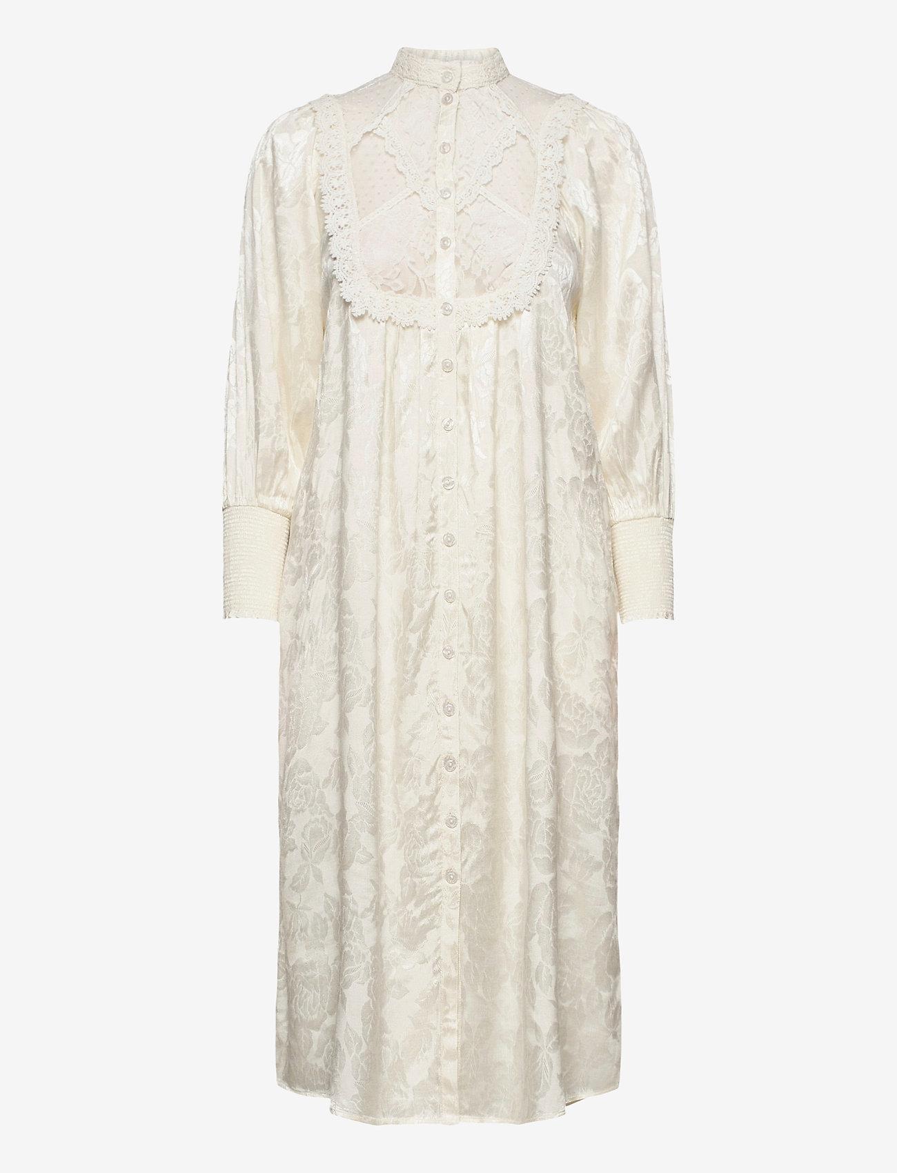 by Ti Mo - Jacquard Lace Shift Dress - sommerkjoler - vintage - 0